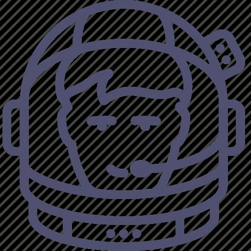 astronaut, avatar, cosmonaut, exploration, helmet, human, pressure, space, suit icon