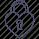 key, lock, love, private, secret