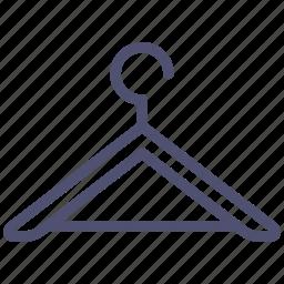 clothes, hanger, interior icon