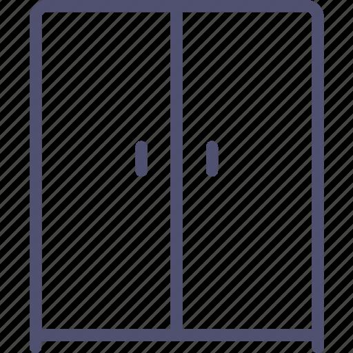 furniture, interior, wardrobe icon