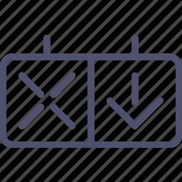 lights, reversing, road, traffic, transport icon