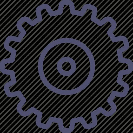 Cogwheel, gear, industrial, mechanic icon - Download on Iconfinder
