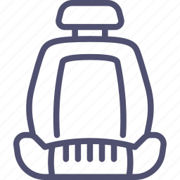 car, chair, seat icon