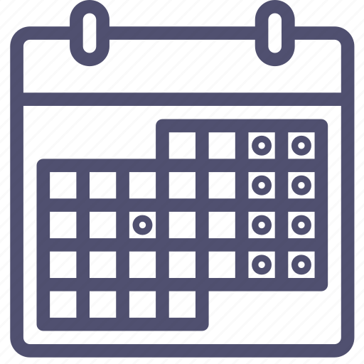 calendar, date, event, management, month, schedule, time, weekends icon