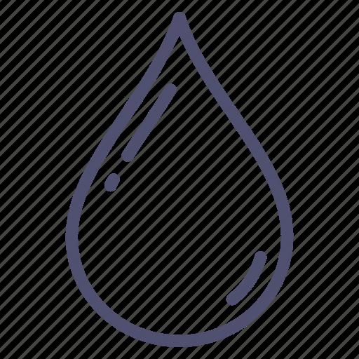 drop, liquid, water, wet icon