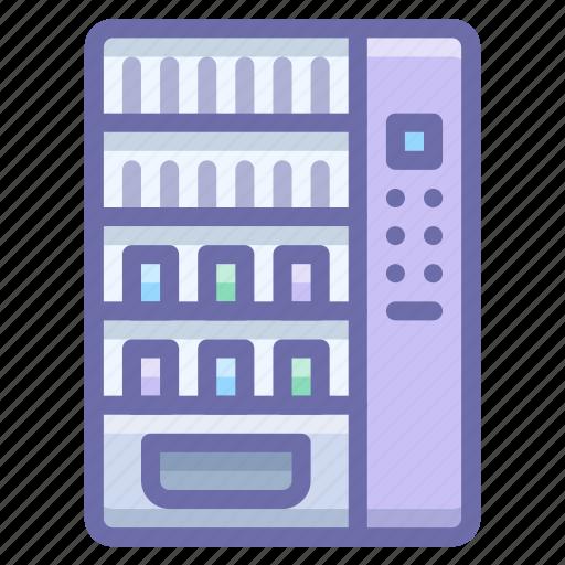 cola, machine, vending icon
