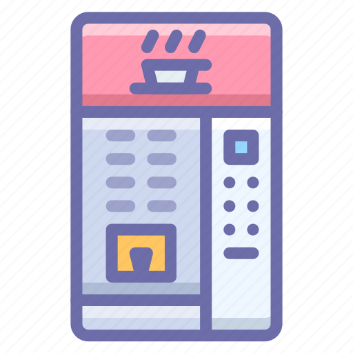 coffee, machine, vending icon
