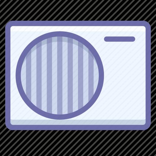 air, conditioner, outdoor icon