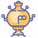 kitchen, samovar, teapot icon
