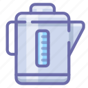 electric, kettle icon