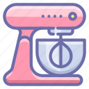kitchen, mixer, stand icon