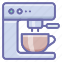 coffee, kitchen, machine icon