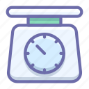 kitchen, scales icon