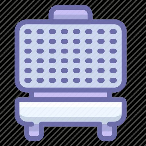 Iron, kitchen, waffle icon - Download on Iconfinder