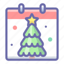 day, new year, xmas icon