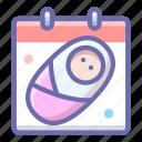 baby, birthday, holiday icon