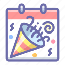 day, holiday, party icon