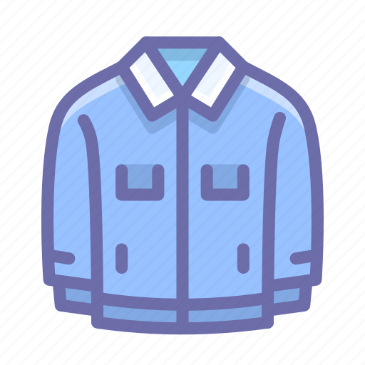 Denim, jacket, windbreaker icon - Download on Iconfinder