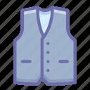 suit, vest, waistcoat icon