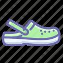 crocs, sabot, sandals