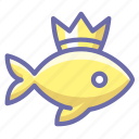 goldfish, wish, wonder icon