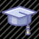 academic, cap, student icon