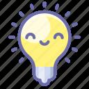 insight, lamp, idea icon