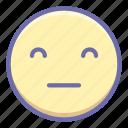 emoji, expressionless, pockerface icon