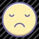 dissapointed, emoji, unamused icon