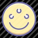 emoji, eye, psychic icon