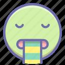 emoji, puke, vomiting icon