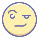 areyousure, emoji, face, wondering icon