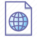 extension, global, language icon