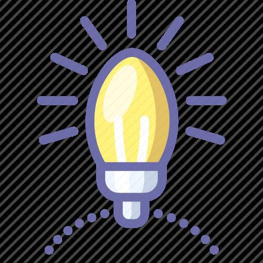 Flashlight, garlands, tree icon - Download on Iconfinder