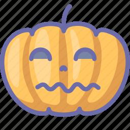 halloween, pumpkin icon