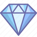 diamond, gift, present icon