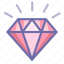 diamond, jewel, present icon