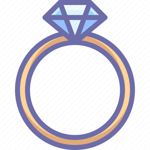 Diamond, present, ring icon - Download on Iconfinder