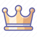 crown, jewel, king icon