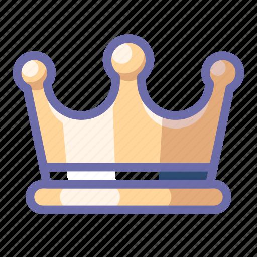 crown, jewel, king icon