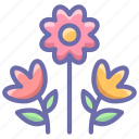 bouquet, flowers, present icon