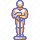 cinema, hollywood, oscar icon