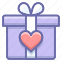 gift, love, present