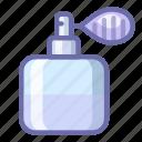 cosmetics, perfume, pump
