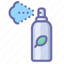cosmetics, deodorant, spray icon
