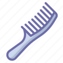 comb, hairbrush, makeup