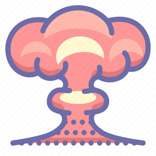 atomic, bomb, nuclear icon
