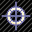 box, center, cg, gravity icon