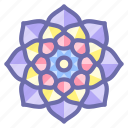 buddhism, indian, mandala, religion icon