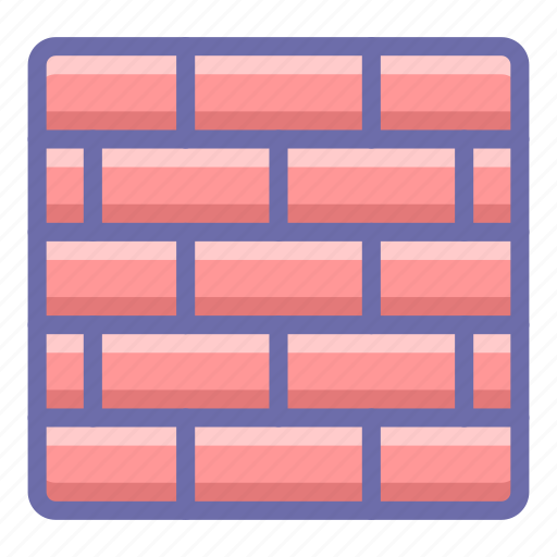 firewall, security, wall icon